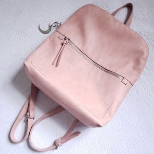UNIVERSAL THREADS pink faux leather mini backpack